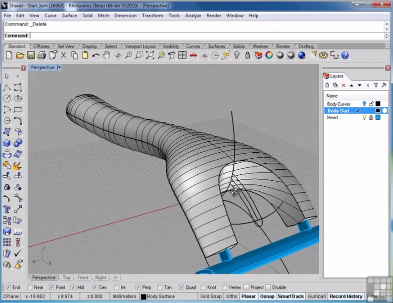 Trainer InfiniteSkills Releases Rhino 5 Tutorial Series for
